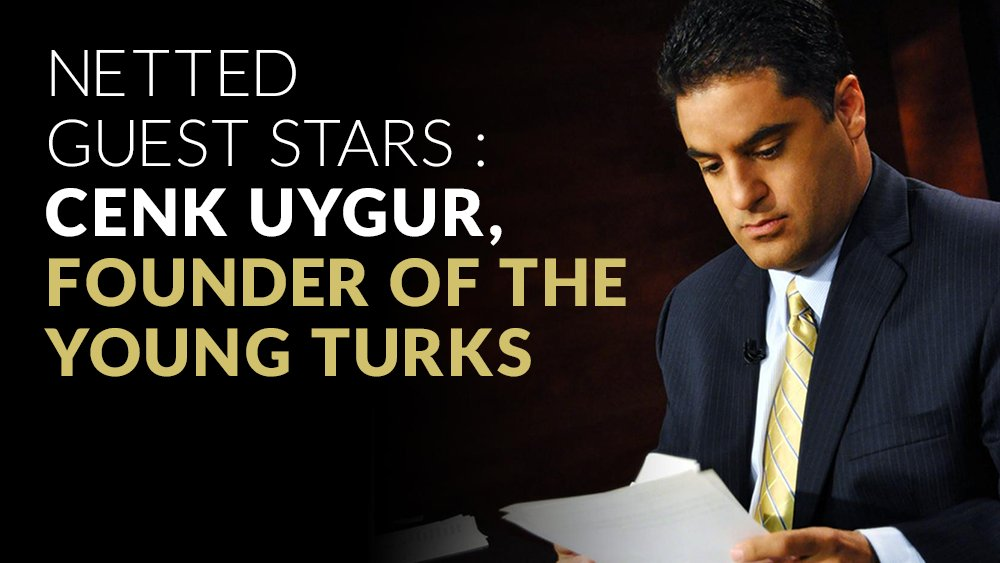 Guest Star: @TheYoungTurks Founder + Host @cenkuygur   Tools for staying politically active: https://t.co/Fztp0j0FQA https://t.co/NHrH5wqBCq