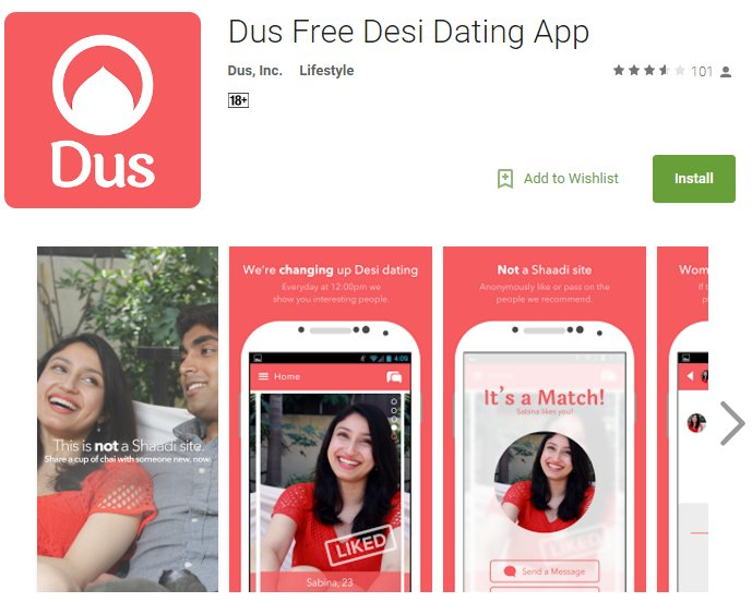 Dus dating app
