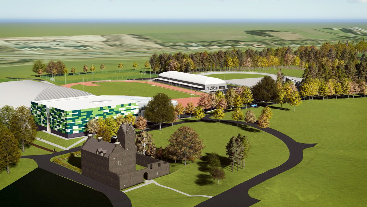 New images of the  Regional Performance Centre for Sport lodged with the planning application. https://t.co/xD3AmDSPUn
