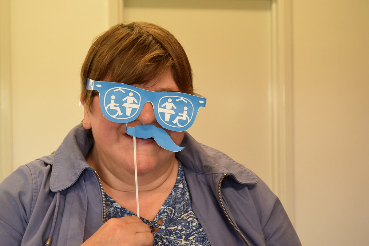 Welwyn & Hatfield Day Service supporting #ChangingPlaces #CPselfie https://t.co/YmWvsJFz8c @hertscc https://t.co/CRyVzGYq4P