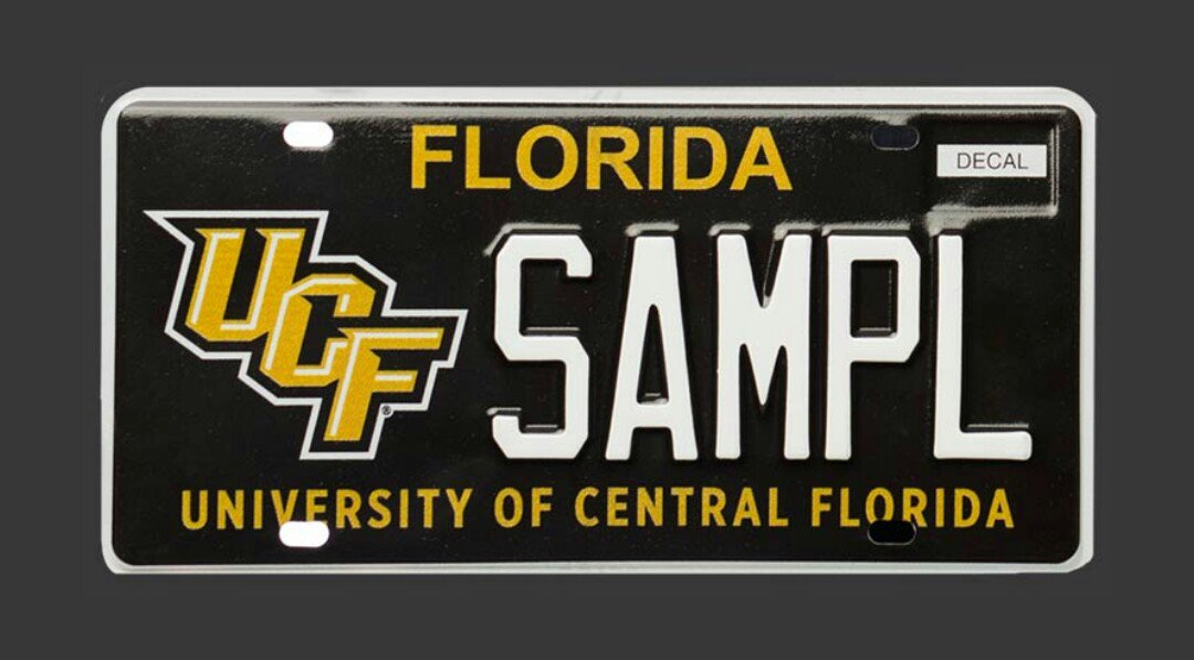 Famous Ucf Alumni License Plate Frame Photo - Framed Art Ideas ...
