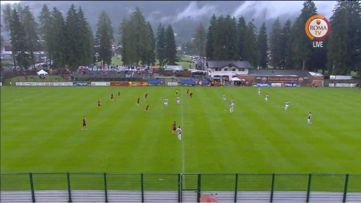 Dove vedere Pinzolo Campiglio ROMA Streaming Tv | Amichevole Calcio d'Estate