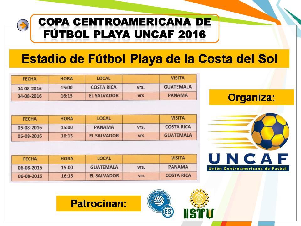 Torneo UNCAF 2016 en El Salvador. CnQW5mmUkAAzSRx