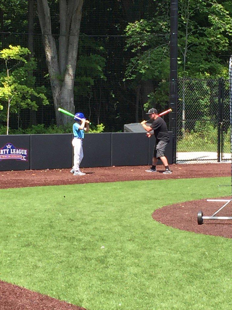 Bard Baseball On Twitter Sophomore Chris Blake Giving Some 1on1