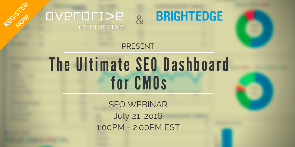 Educate CMOs on the value of #ROI and secure more resources for your #SEO program. Register: https://t.co/VkyeB9jBlS https://t.co/XVYcbfADP0