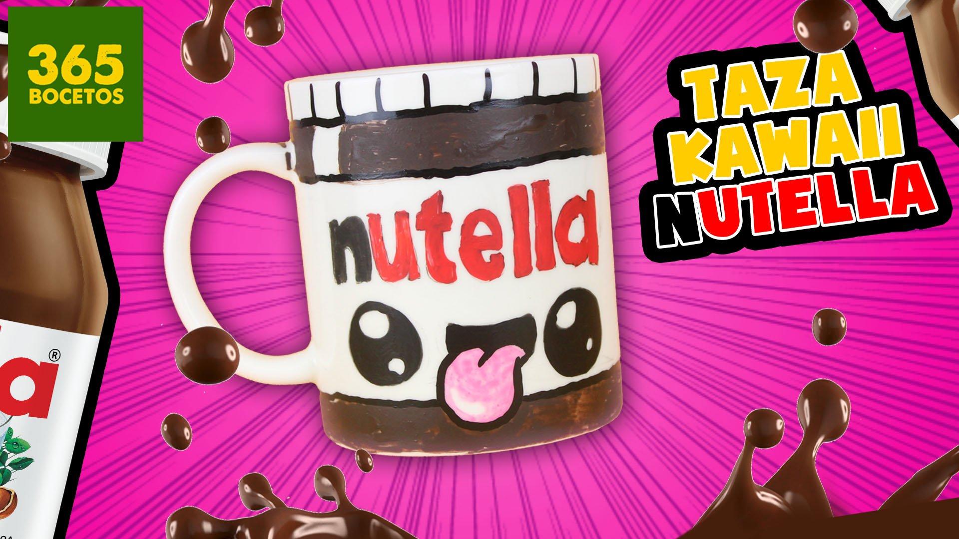 365 Bocetos On Twitter Nuevo Video En El Canal Nutella Kawaii En