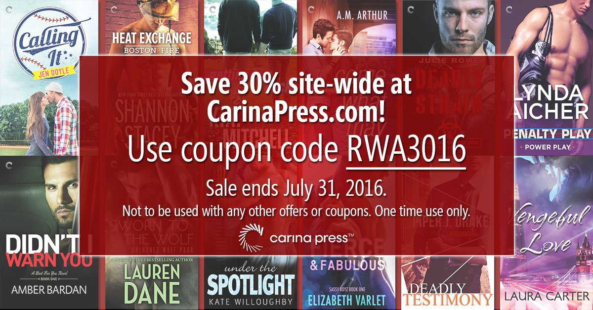 Save 30% at https://t.co/6kFbqcyTb0 during #RWA16 with coupon code RWA3016 Sale ends July 31. https://t.co/hyhjIJtFQB