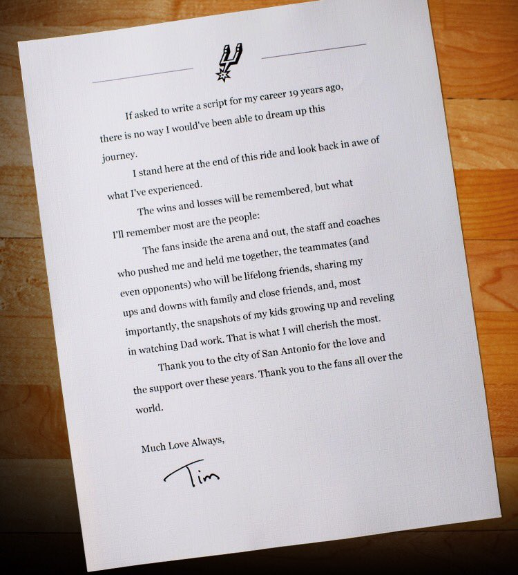 tim duncan thesis