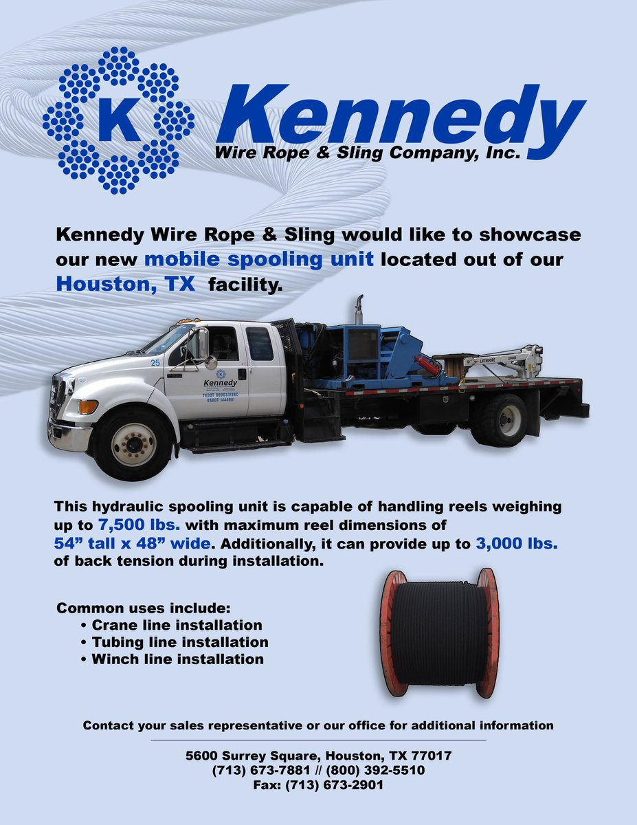 Kennedy Wire Rope on Twitter: \