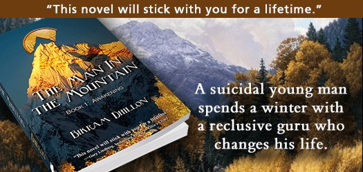 THE MAN IN THE MOUNTAIN #fiction A winter with a reclusive guru  http:// smarturl.it/MTNtg  &nbsp;   <br>http://pic.twitter.com/gsEtlf8xqO #Books