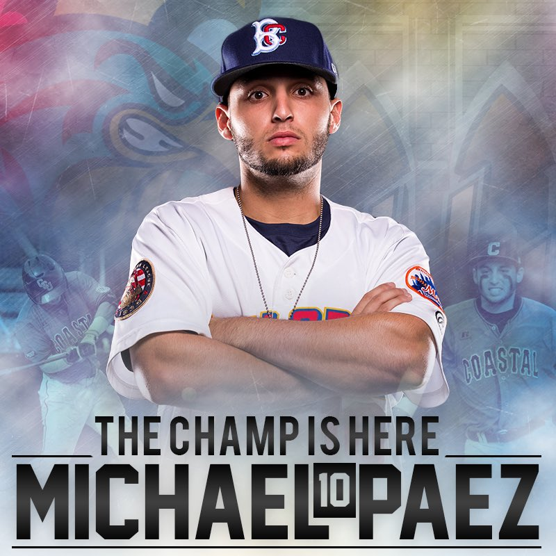 @michaelpaezss will make his pro debut tonight and first appearance since winning the College World Series. https://t.co/7IgUeIZC6q