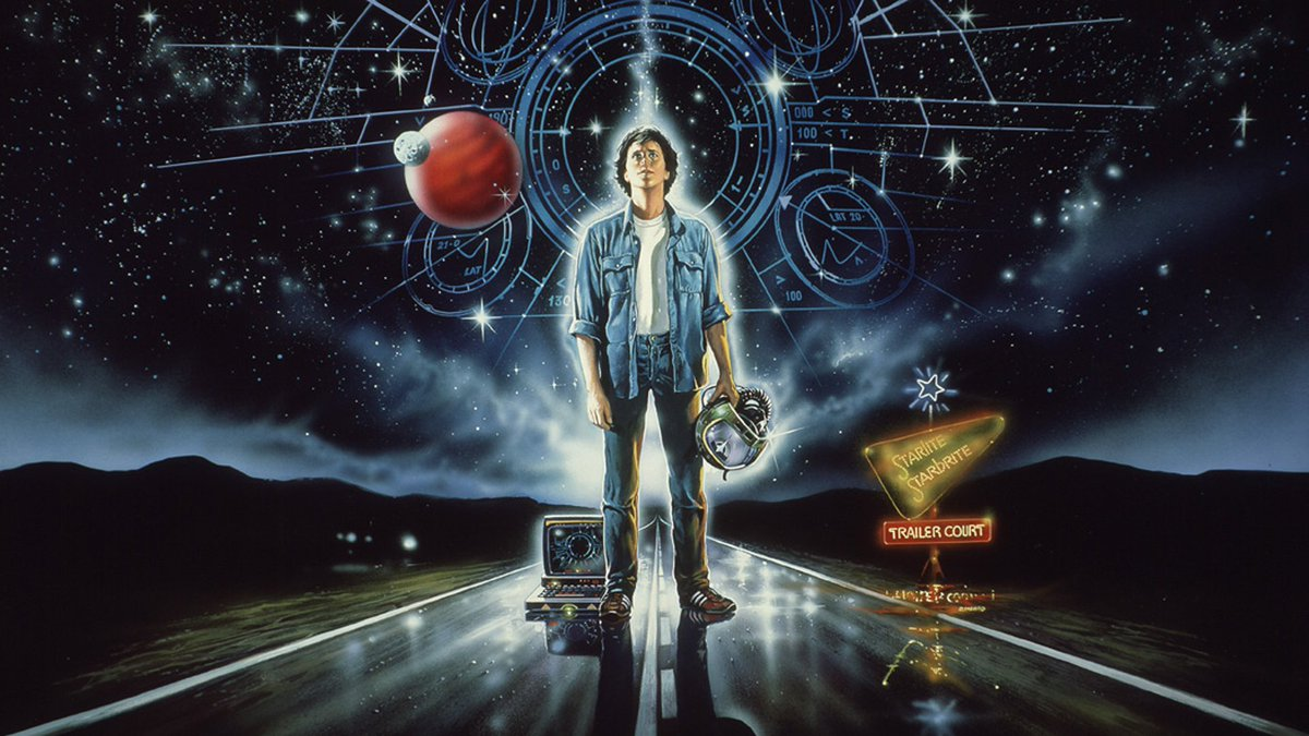 He didn't find his dreams... his dreams found him. THE LAST STARFIGHTER was released on this date in 1984!