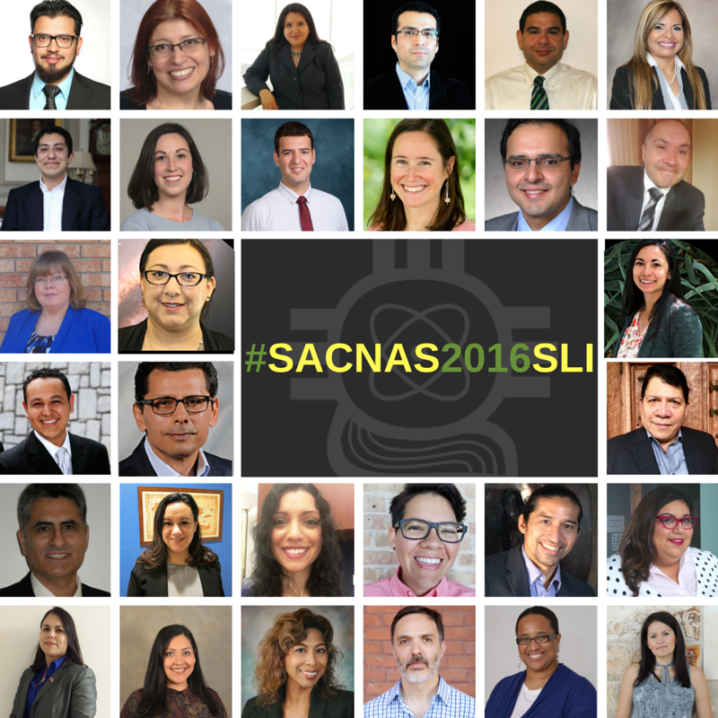Introducing the #SACNAS2016SLI Cohort! Follow them next week-we'll be live-tweeting! https://t.co/HvINiPTUgx #AAAS https://t.co/ZhAskRjynO
