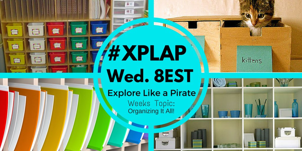 Welcome to #XPLAP! Please introduce yourself & share an area of organization that you struggle with. #tlap #SOXPLAP https://t.co/2kBISnqV55
