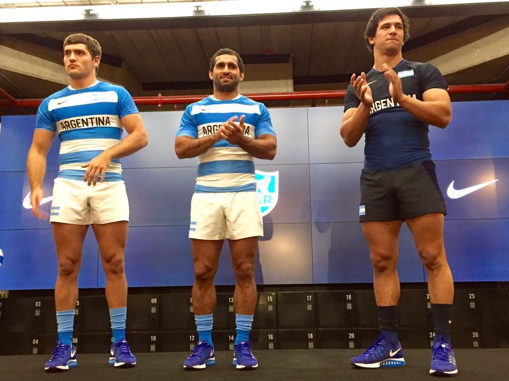 Nike presentó los nuevos uniformes que vestirán Los Pumas y Los Pumas Seven