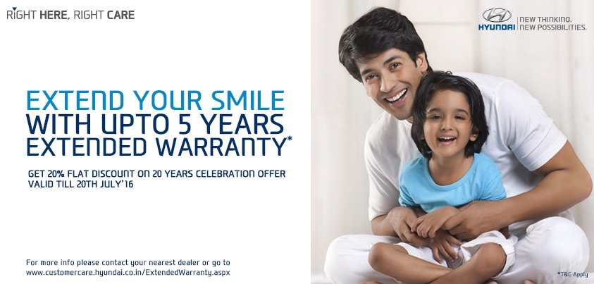 Hyundai Extended Warranty >> Hyundai India On Twitter Get Upto 5 Years Extended Warranty