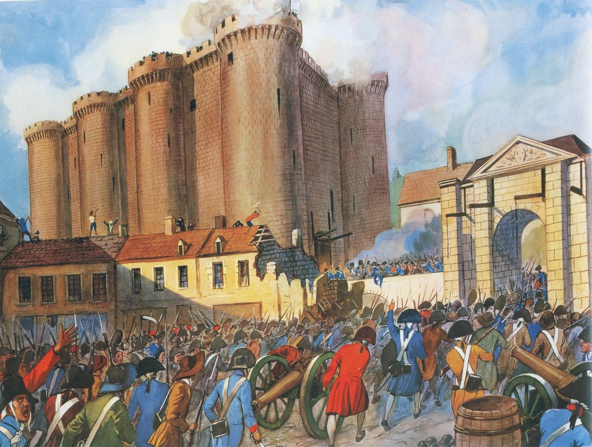a history of the bastille the fortress in france