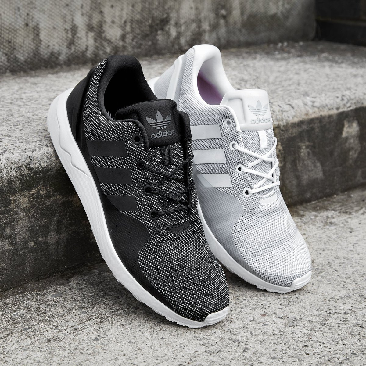 ADIDAS ZX FLUX ADV TECH MENS TRAINERS
