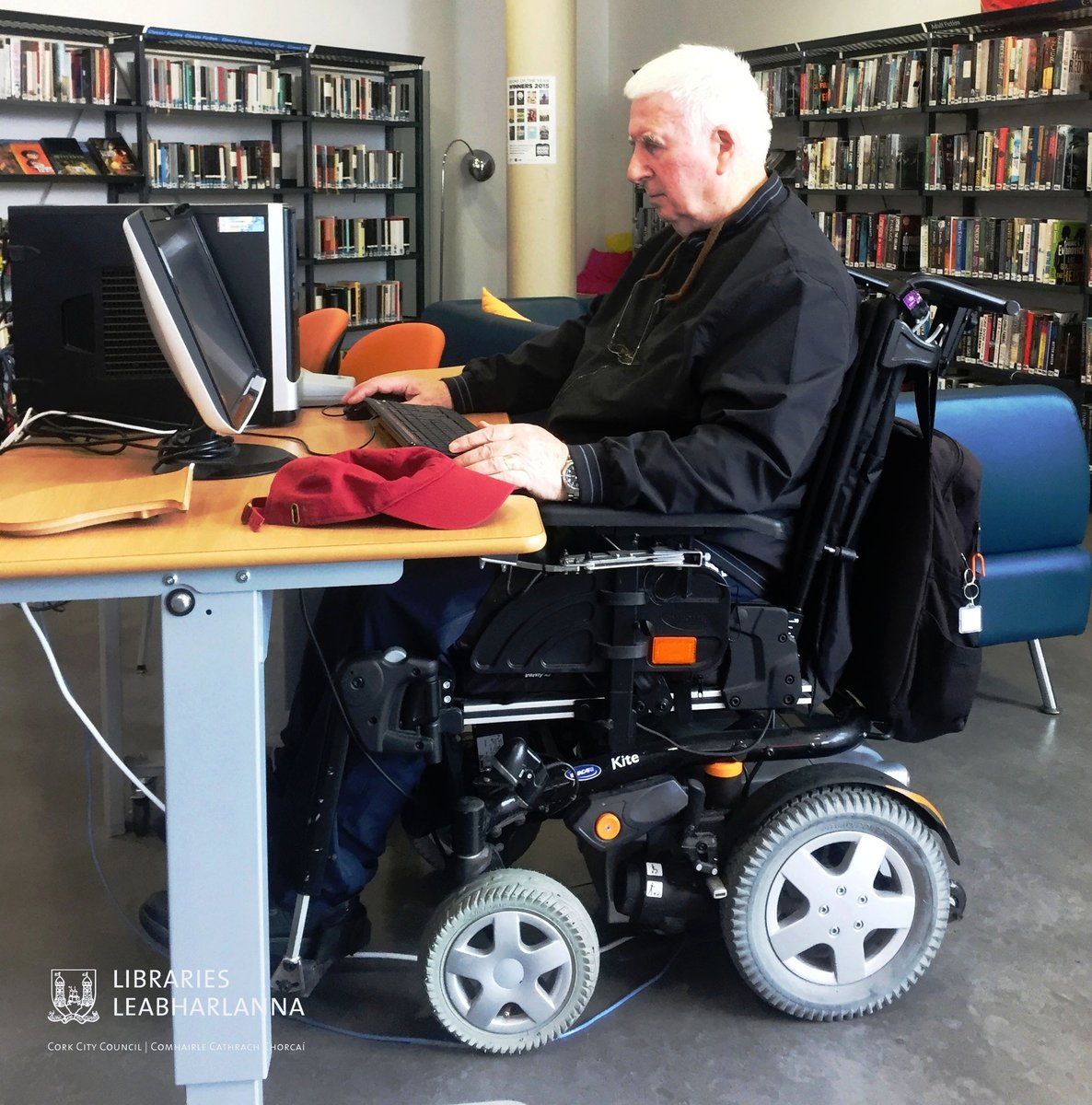 Cork City Libraries On Twitter Push Button Height Adjustable