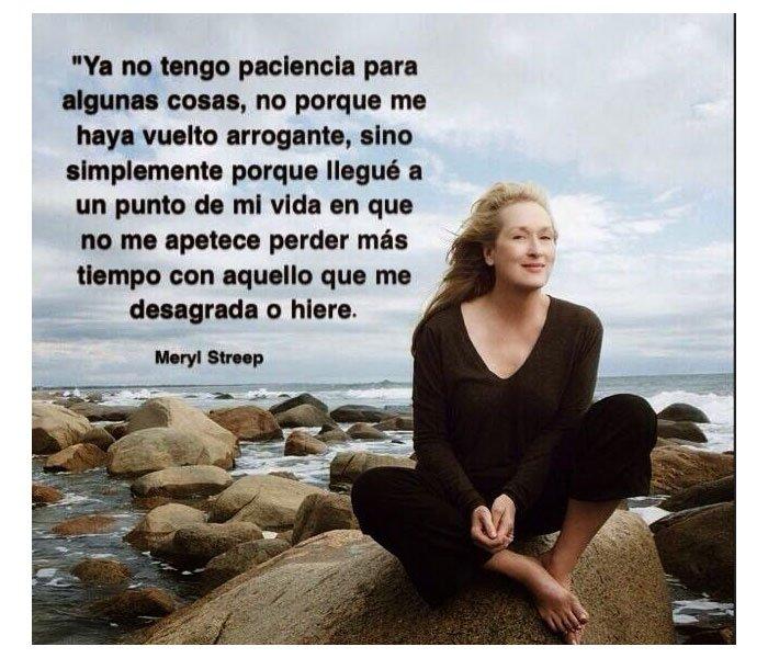 Meryl Streep Frases Podido Meryl Streep Marie Claire