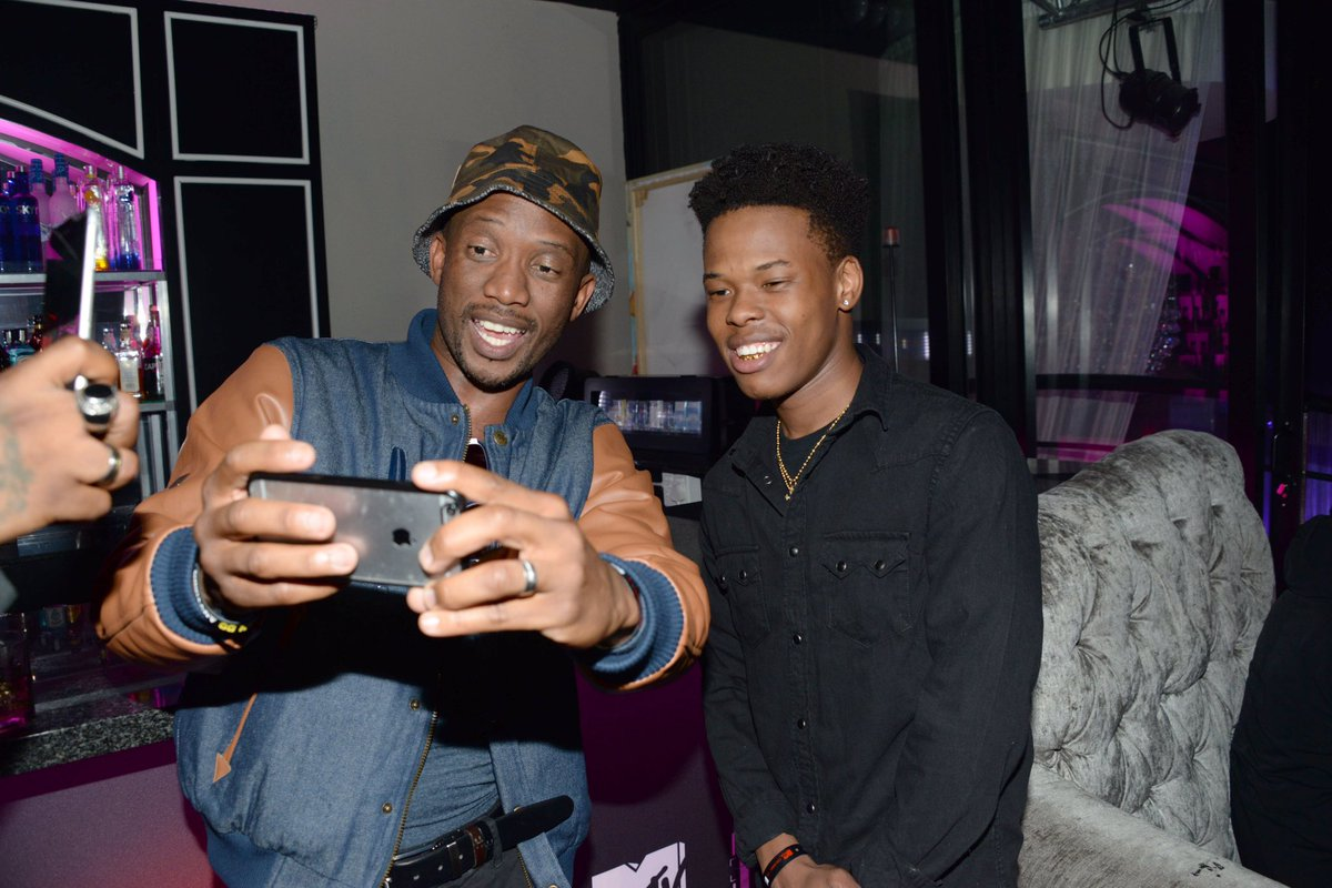 Selfie time! @davidkau1 and @Nasty_CSA at the #RidiculousnessAF launch at Cantare! @MTVAfrica https://t.co/ODRZT7M2Ur