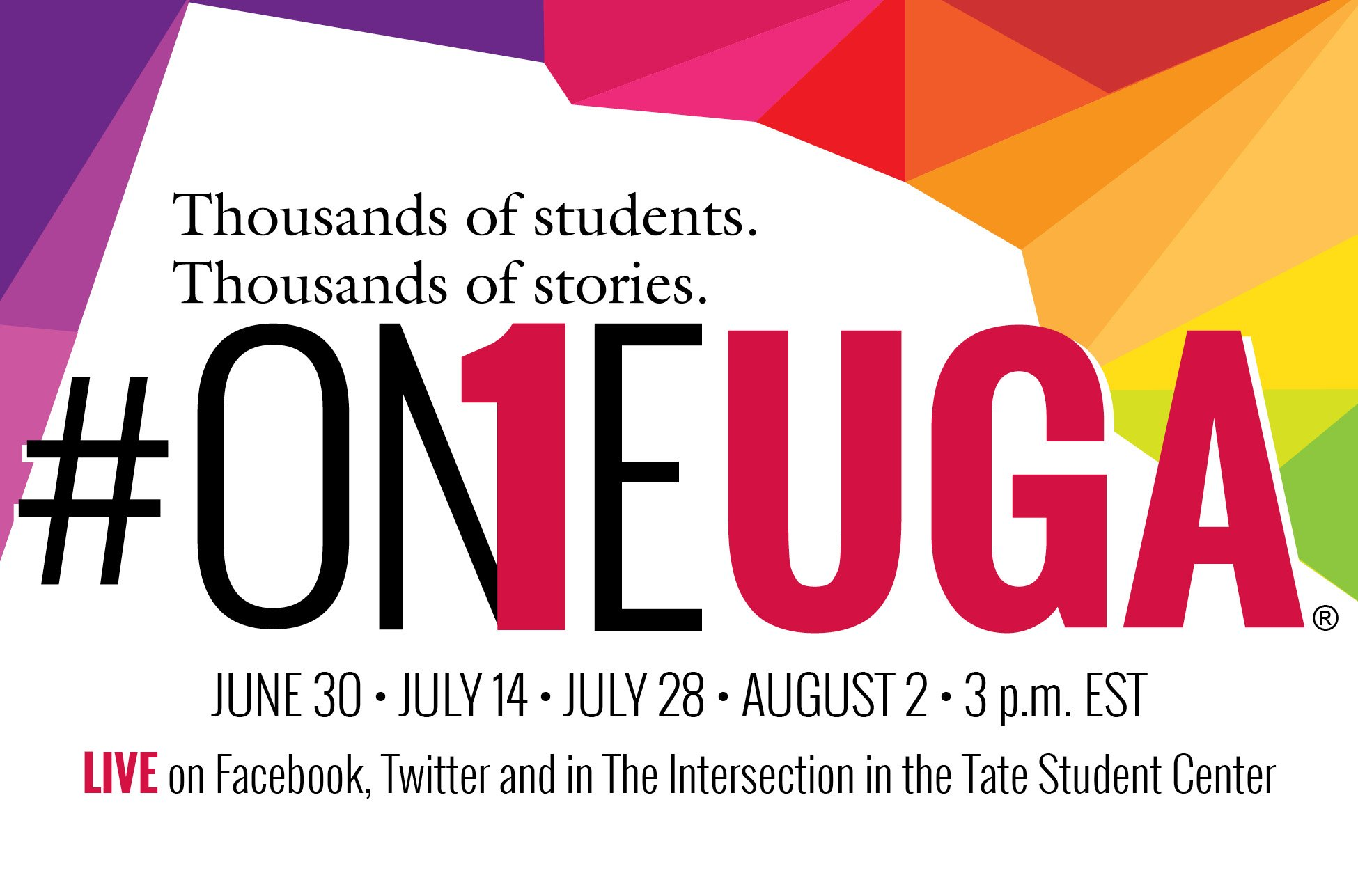 We are excited to once again participate in the #OneUGA conversation! https://t.co/yhAUArPYHM