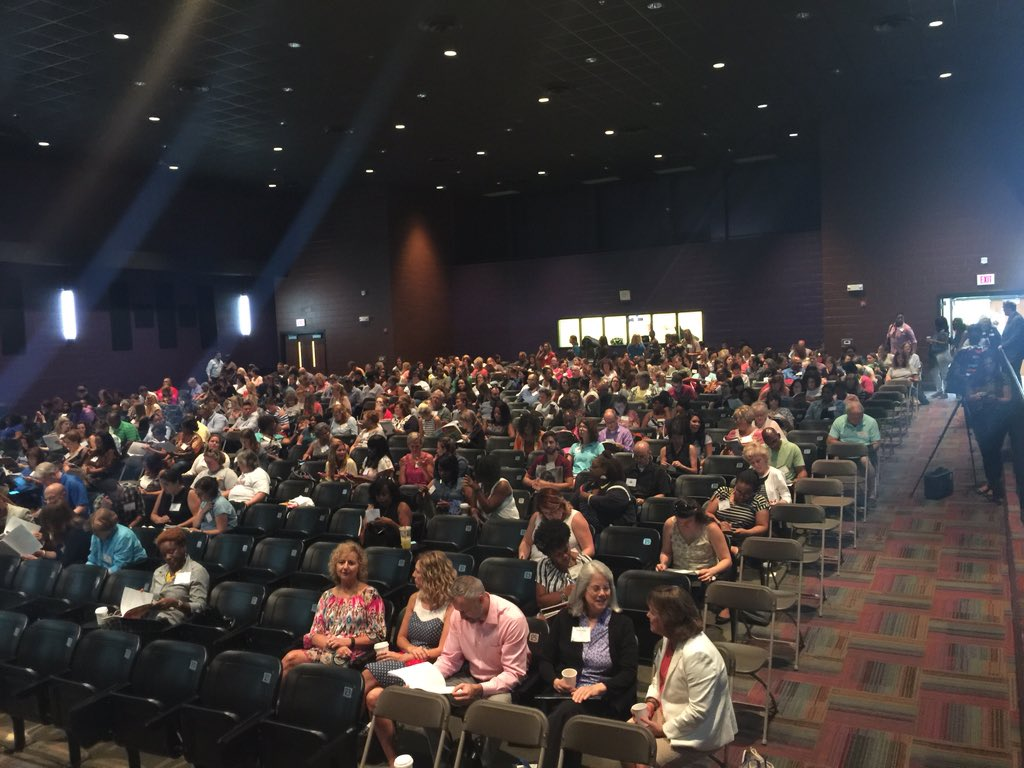 #selconference 2016 is underway at Cane Ridge HS! 700+ teachers admins counselors partners here to support SEL. https://t.co/sPZN1WP8X8