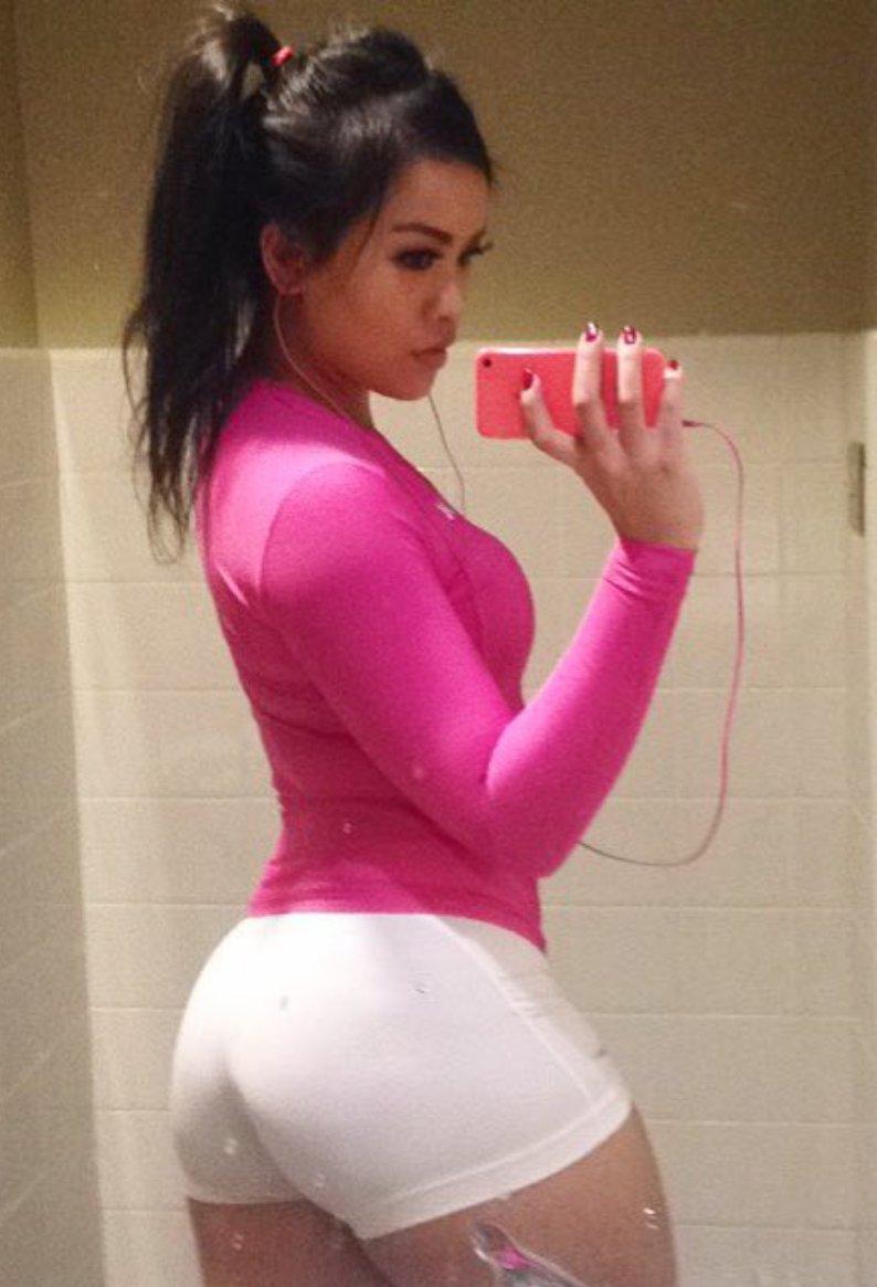 Nude asian woman ass