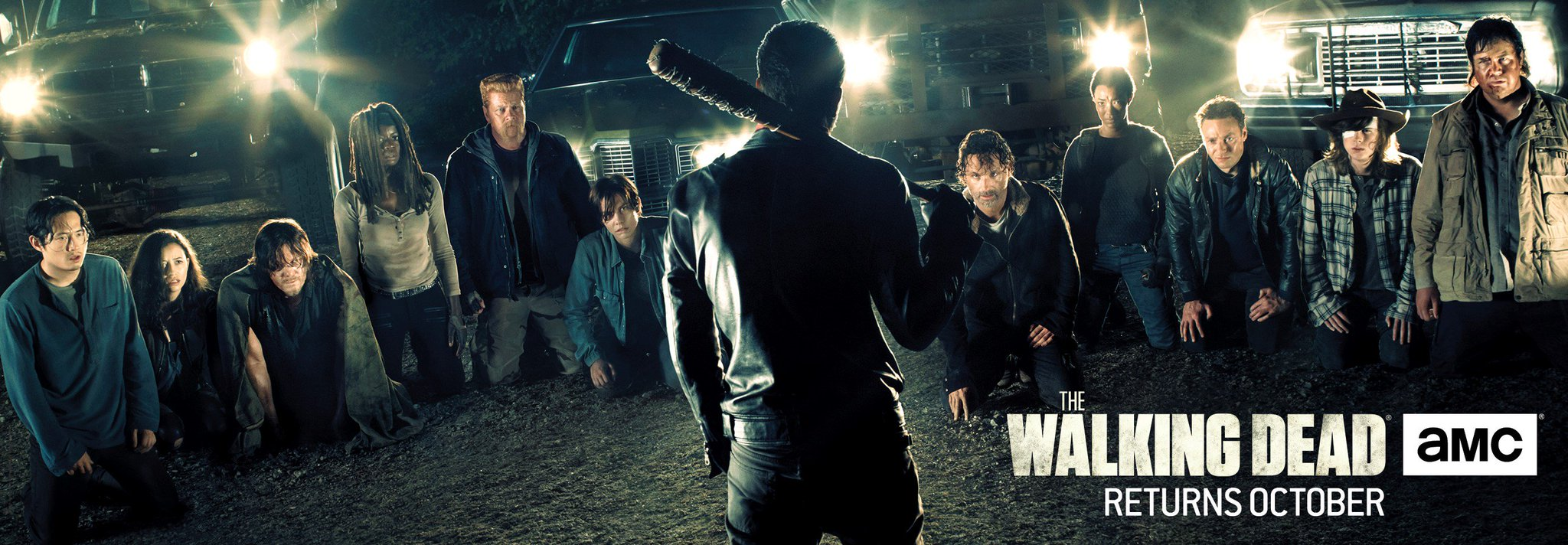 Bannière The Walking Dead Saison 7