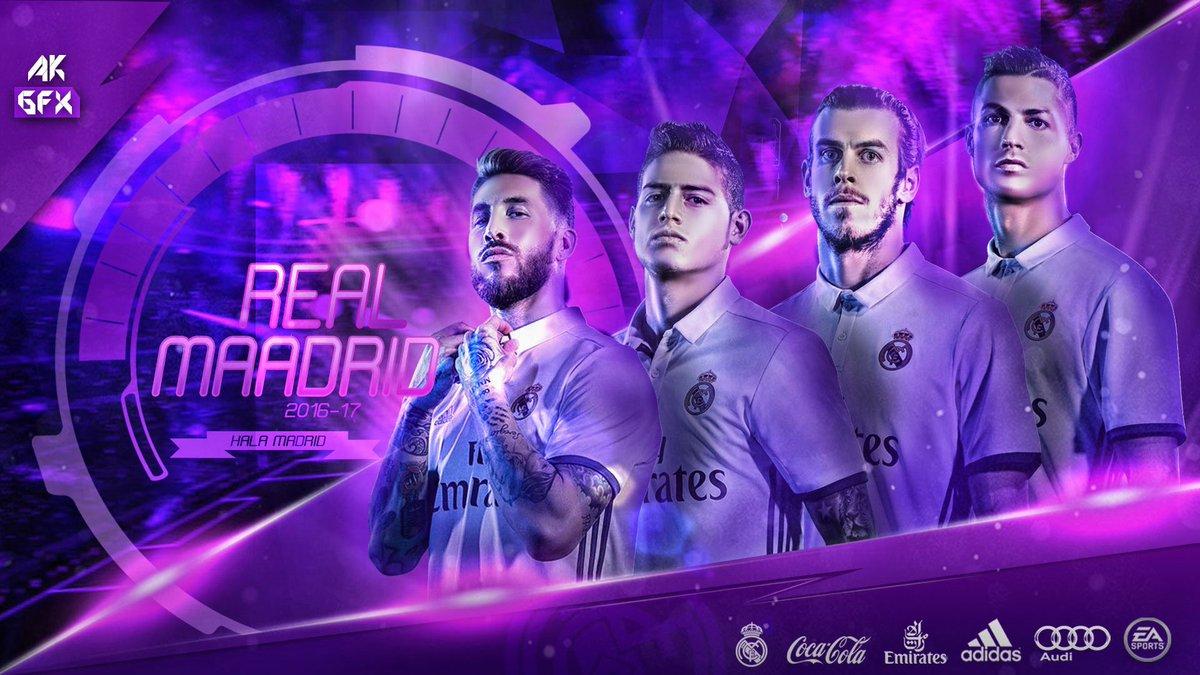 Akgfx En Twitter Real Madrid 201617 Wallpaper James