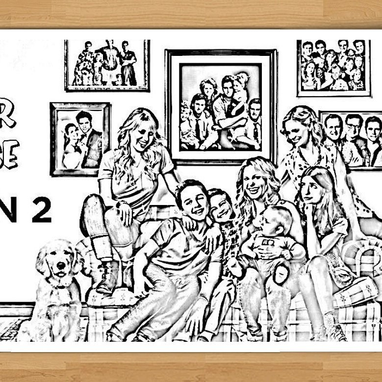 """feelingthevibe on Twitter: """"Get the #fullerhouse coloring page for FREE only at https://t.co ..."""