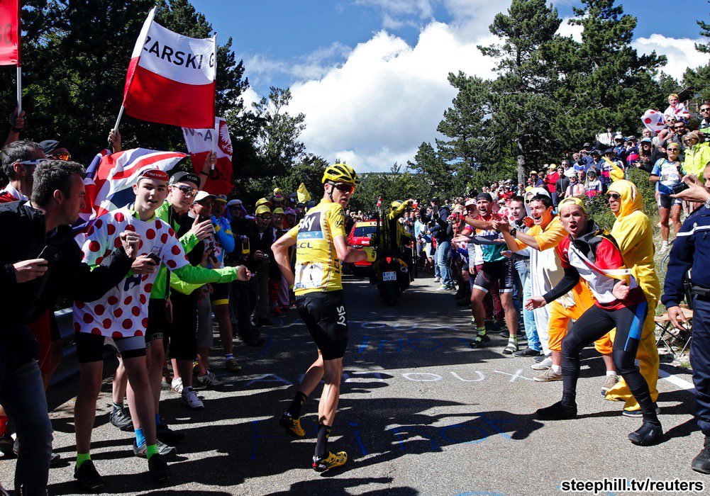 2 Big Photos from the Stage 12 Duathlon at Tour de France: https://t.co/02jPetQBJu more to come https://t.co/g6qI1rqGzt