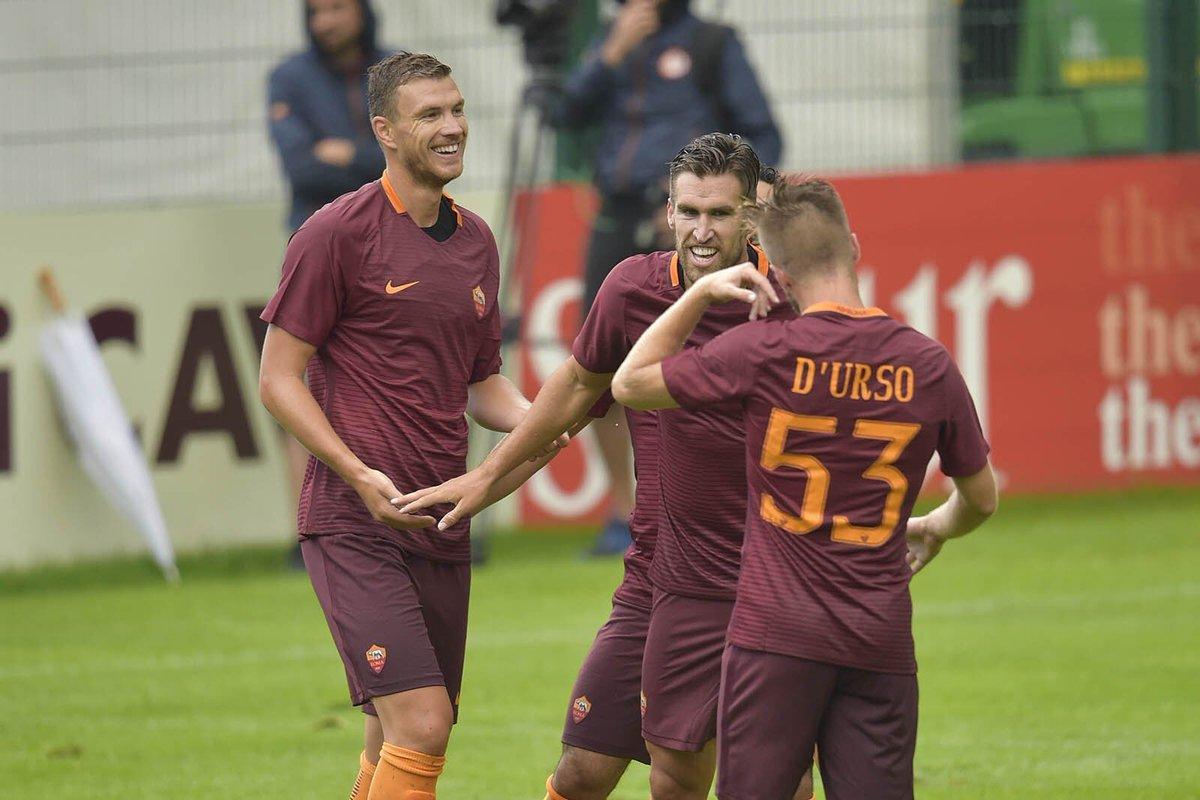 Amichevoli, Roma-Terek Grozny 3-2: Totti illumina, Dzeko segna