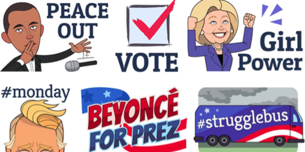 Stop everything and check out HuffPost's hot new Viber stickers
