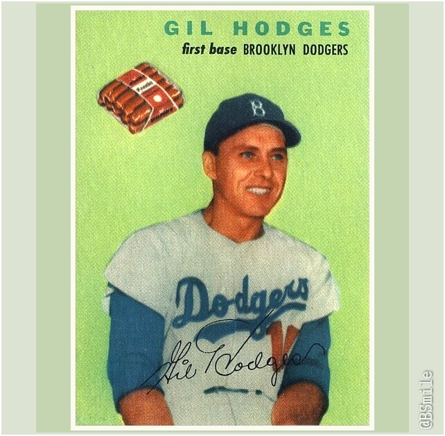 Baseball By Bsmile On Twitter 1954 Wilson Franks Gil