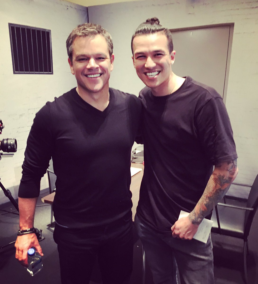 Ich liebe diesen Typen!! Richtig sympathischer Dude! ✌🏻️❤️ #MattDamon #Bourne
