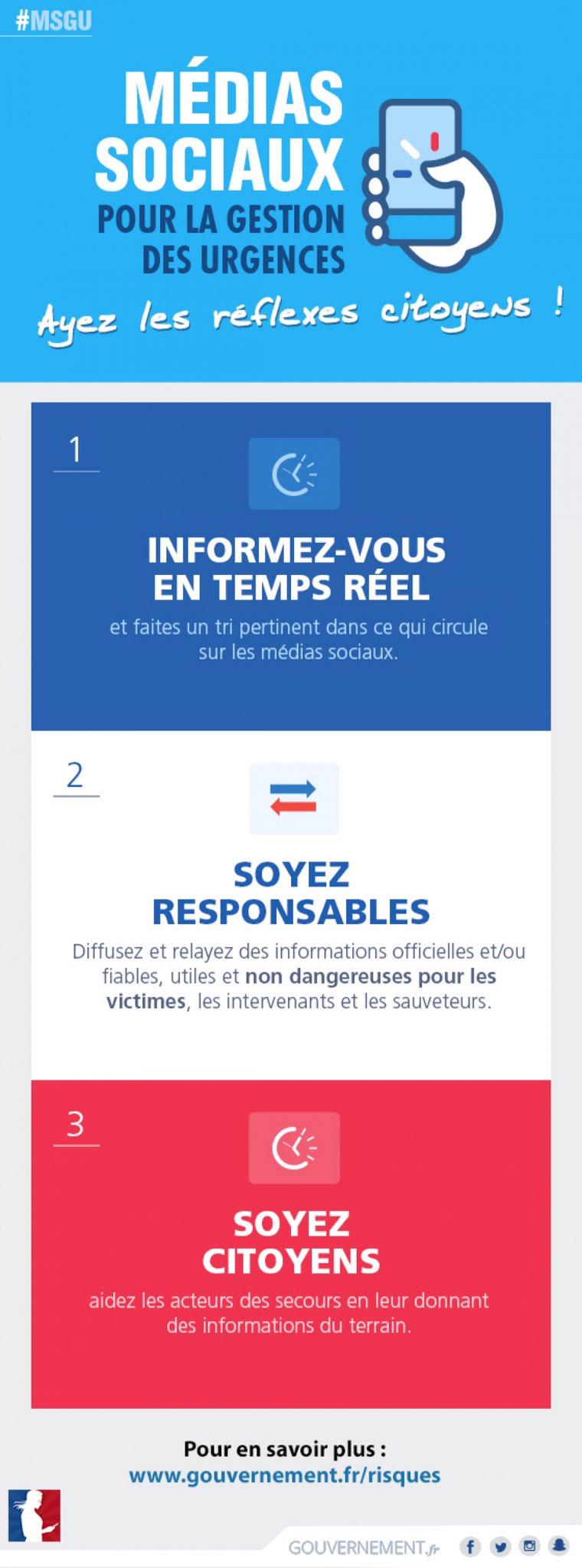 #Nice06 Ne propagez pas de rumeurs, ne diffusez que des infos officielles Ne téléphonez qu'en cas d'urgence vitale https://t.co/ripi5973d0