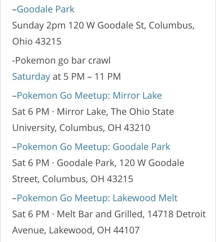 View Pokemon Go Columbus Ohio  PNG