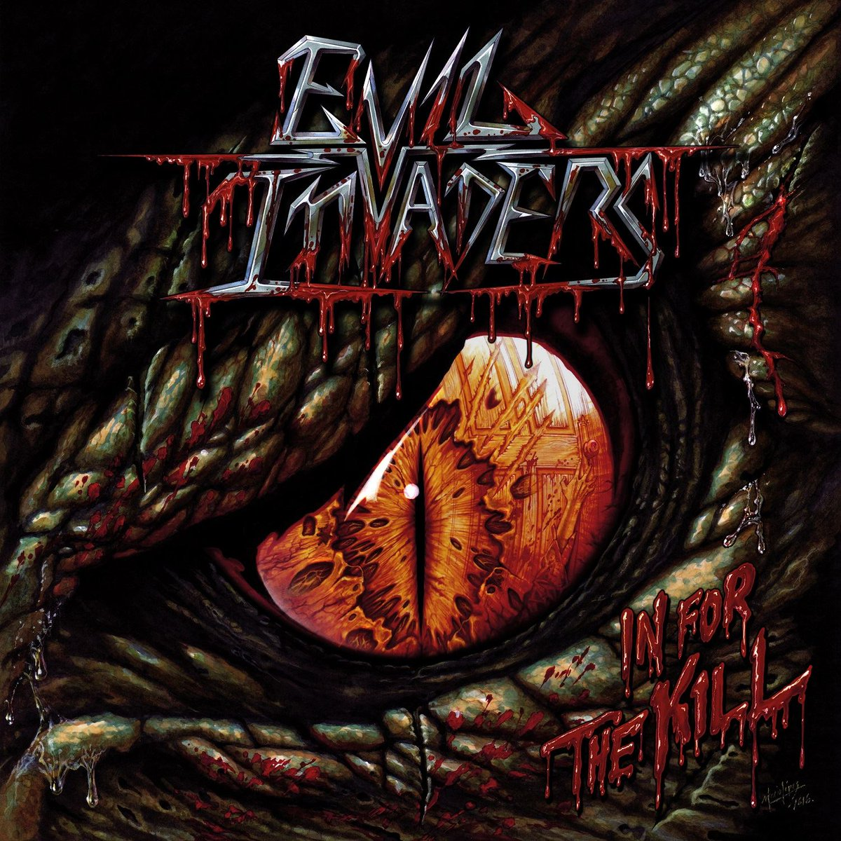 We're going #InForTheKill! @EvilInvadersBE to release new EP 9/30 w/ 2 live & 2 new tracks! Pre-orders coming soon!pic.twitter.com/KecOcTHRYy