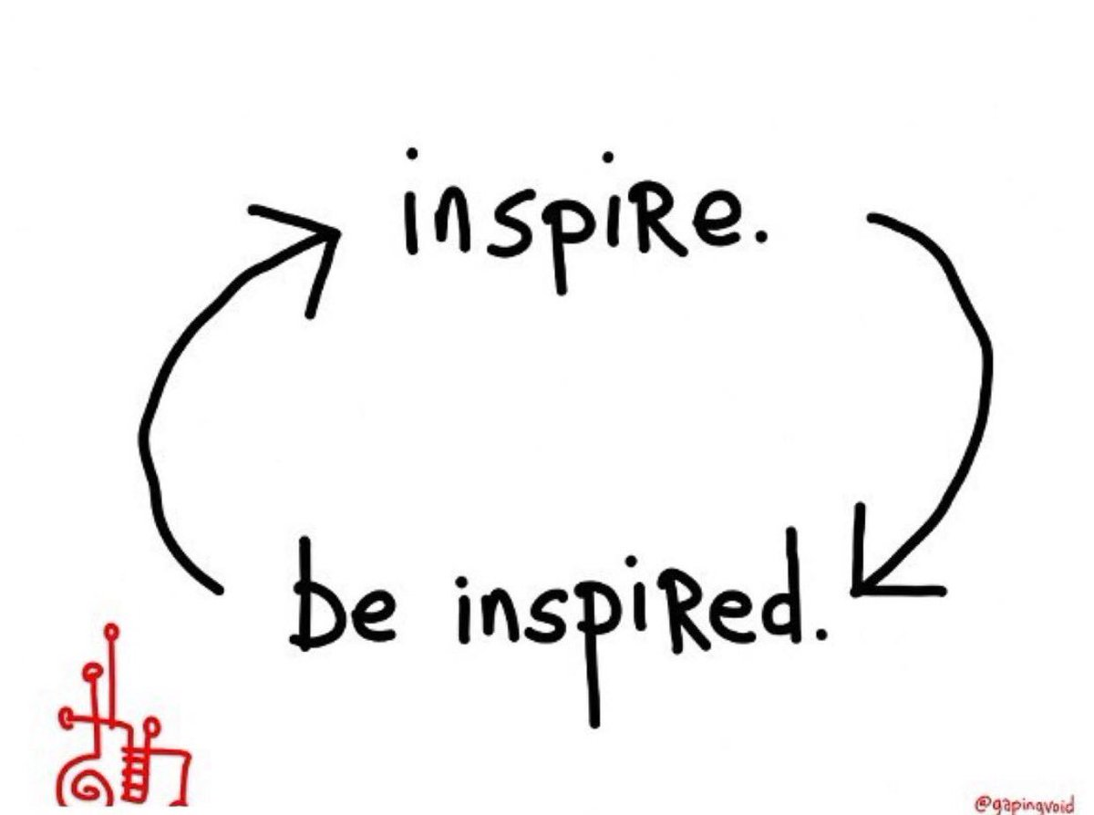 Every day is a new chance for us to to inspire someone. It's up to you to decide.  #insipire https://t.co/lrZCV0l9od