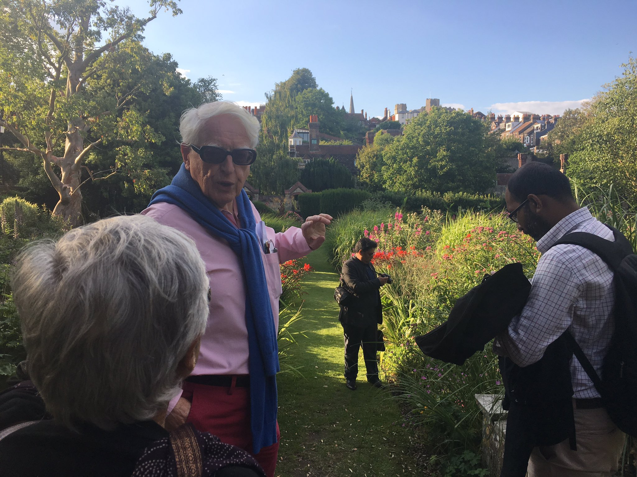Sir Richard Jolly giving @IDS_UK #transformingnutrition students a tour of his home town Lewes. incredible evening! https://t.co/GezDUhU66g