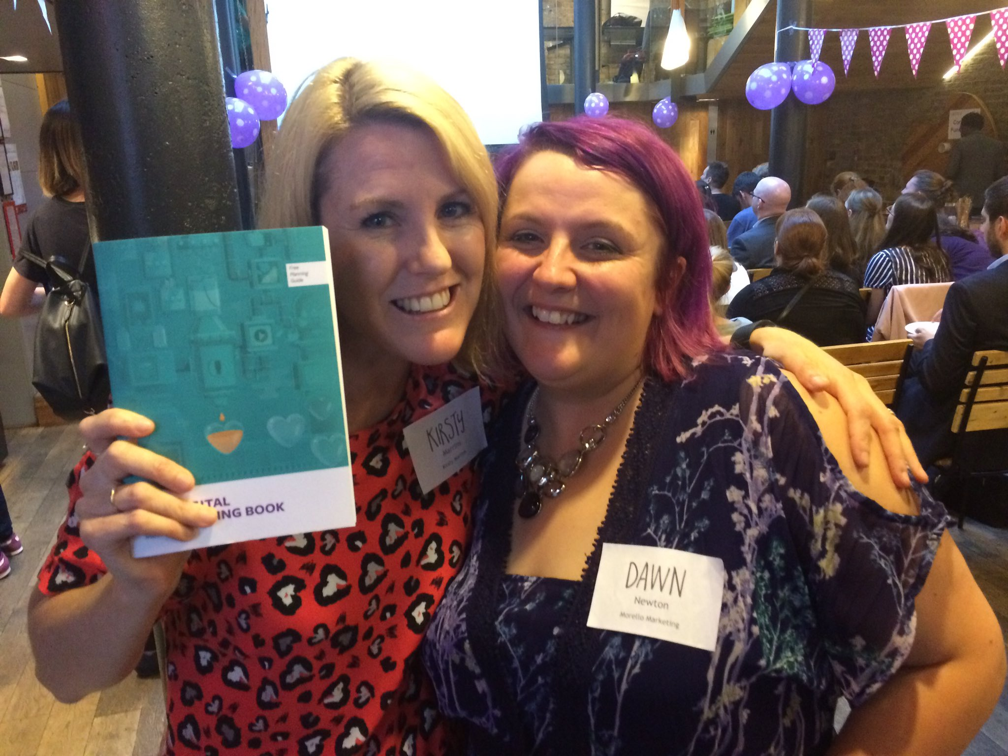 Woohoo! I just won @acrim's new book on Digital Fundraising at @goreckidawn's #charitymeetup https://t.co/5l3AskzIER