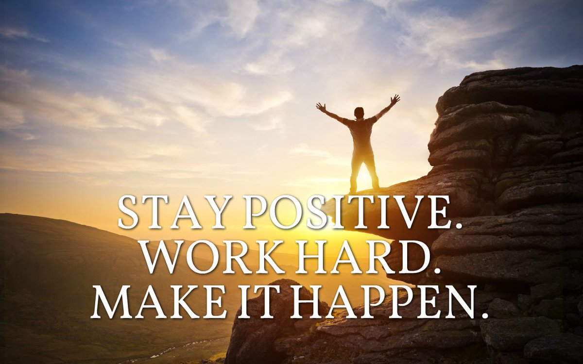"Chad Storey On Twitter: ""Stay Positive. Work Hard. Make It"