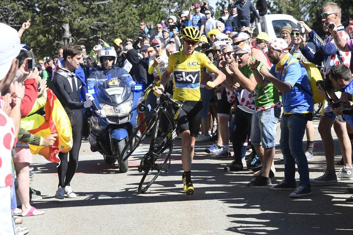Tour de France: Froome e l'incredibile finale del Mont Ventoux (VIDEO)