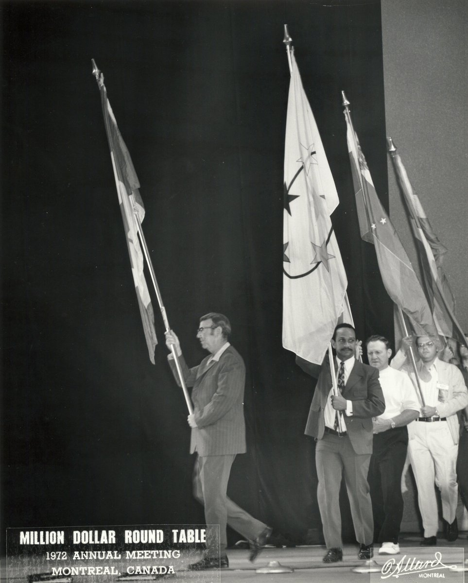 Million Dollar Round Table Canada Mdrt On Twitter The Flag Ceremony At The 1972 Annual Meeting In