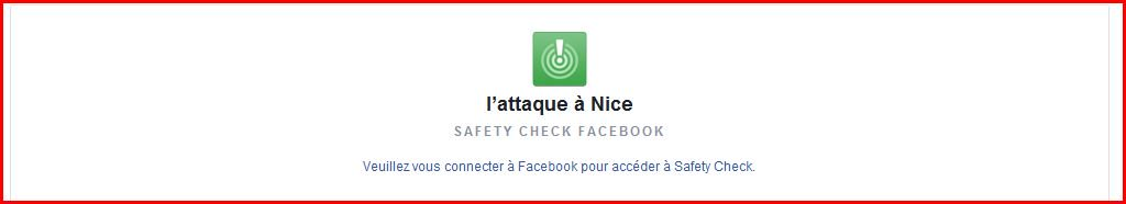 #Nice Activation du#SafetyCheck Facebook #Nice06 https://t.co/IiCE0tEENN