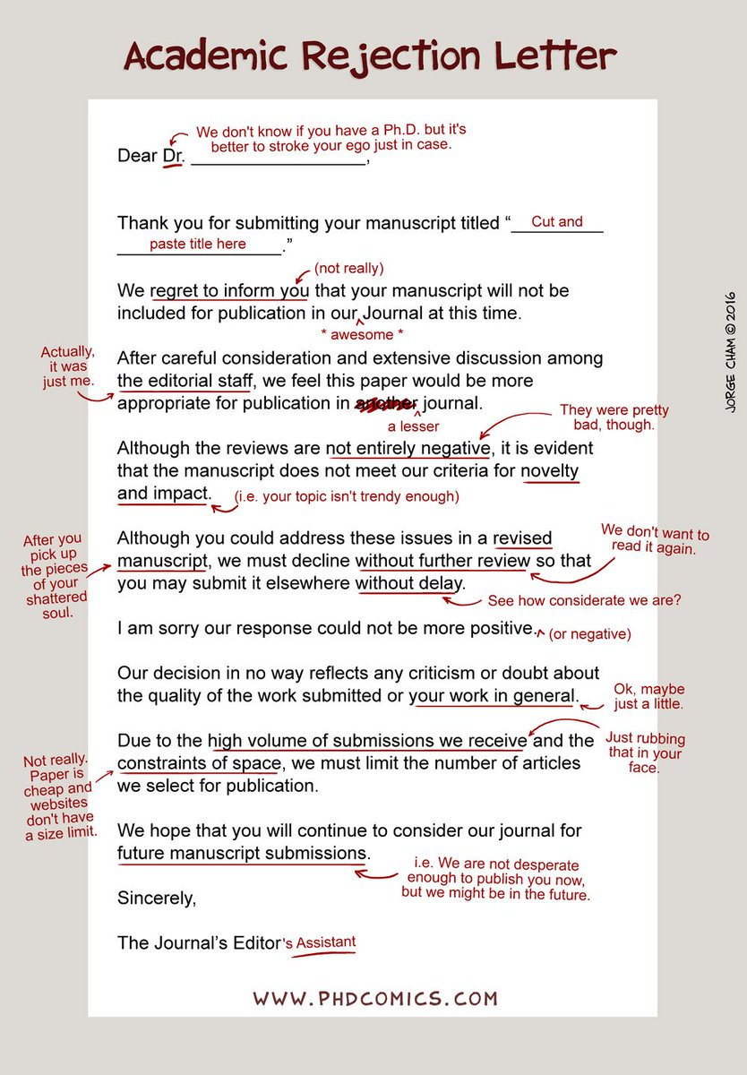 Phd comics on twitter an honest academic rejection letter https phd comics on twitter an honest academic rejection letter httpstsk9nlxym7u altavistaventures Images