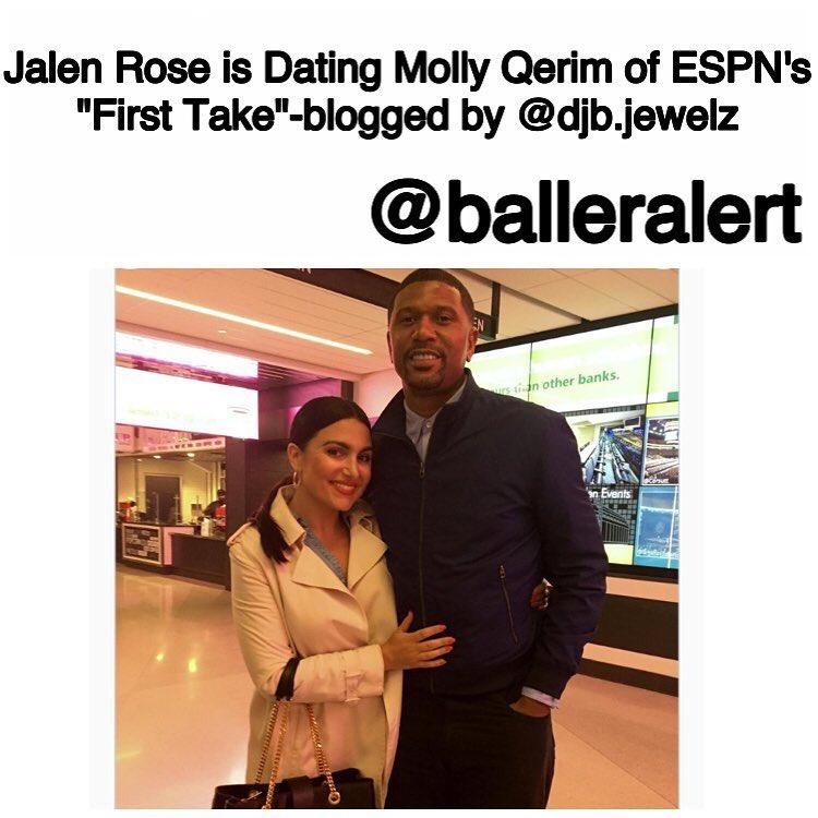 Jalen rose dating