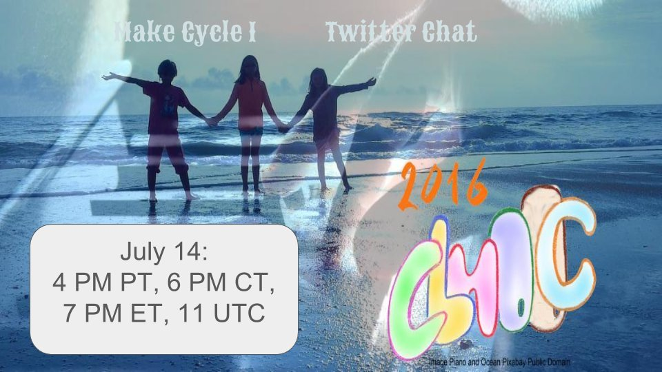 Thumbnail for #CLMOOC Twitter Chat 1