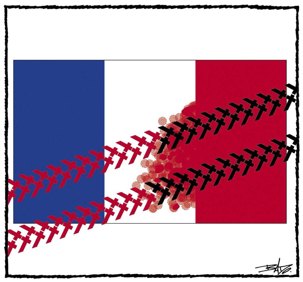 EN IMAGES - Attentat à Nice: des dessins pour rendre hommage aux victimes. CnXjy4TXgAAn6BT